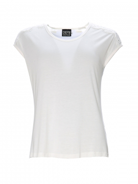 Chopin Ofelia lace top - Offwhite