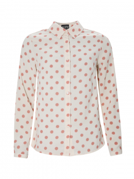 Chopin Petra dot shirt - Light rose