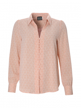 Chopin Pauline seashell shirt - Rose