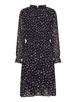 Chopin Agnete flower dress - Navy