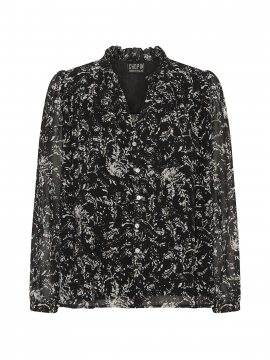 Chopin Alice sparkling shirt - Black