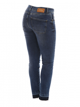 Mos Mosh Sumner step blue jeans - Blue denim