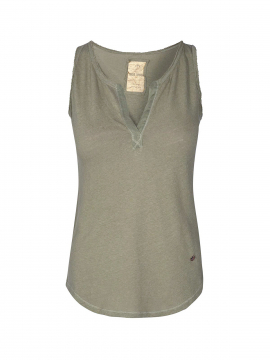 Mos Mosh Troy tank top - Oli green