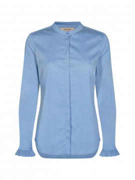 Mos Mosh Mattie sustainable shirt - Bel air blue