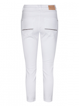Mos Mosh Naomi shade 7/8 cropped jeans - White