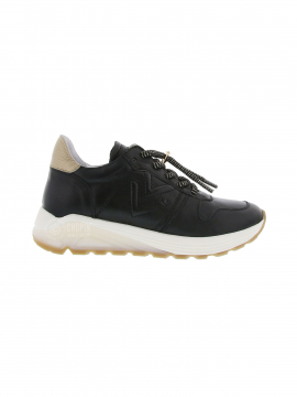 Via Vai Swami vitello sneakers - Nero platino