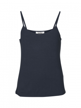 Blue on Blue Femme Tess strap top - Marine