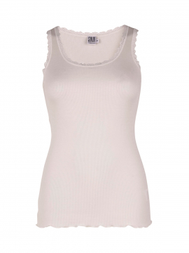 Saint Tropez Silk Lace top - Off white