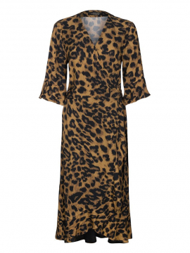 One Two Luxzuz Fenja wrap dress - Leo