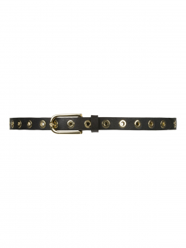 Depeche Siri narrow studs belt - Gold