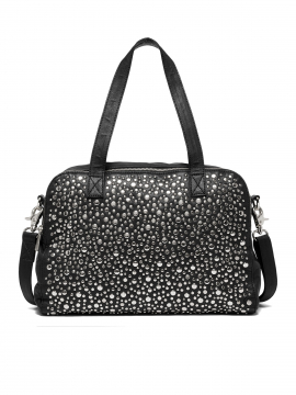 Depeche Nadia studs medium bag - Black / silver