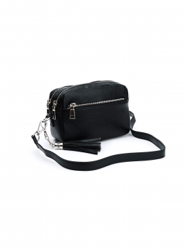 the Rubz Cindy small crossbody - Plain black