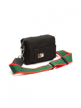 the Rubz Tracy canva crossbody - Black