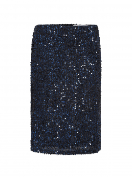 Costamani Pencil palliet skirt - Navy