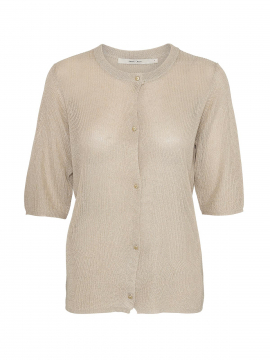 Costamani Linda lurex cardigan - Gold