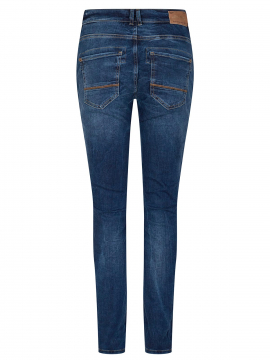 Mos Mosh Etta leather jeans - Blue