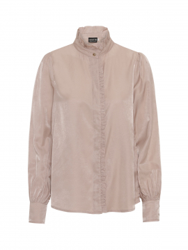 Chopin Bedour solid lace shirt - Pale rose