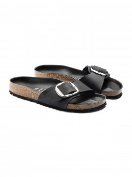 Birkenstock Madrid HEX big buckle Narrow sandal - Black