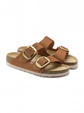Birkenstock Arizona big buckle FL sandal - Brandy