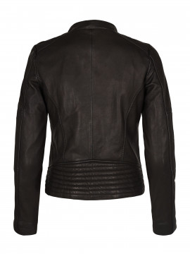 Mos Mosh Newton leather jacket - Black