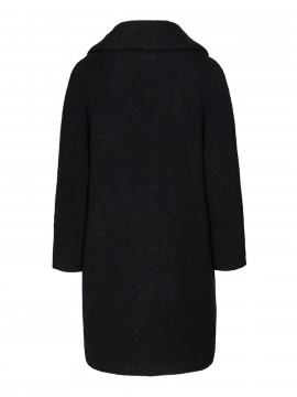 Mos Mosh Manny Wool coat - Black