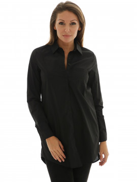 Gila & Feldt Eylien long shirt - Black