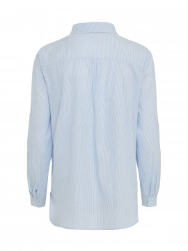Chopin Anna stripe shirt - Light blue