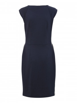 One Two Luxzuz Debbie dress - Dark navy