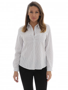 Chopin Barbara stripe shirt - Grey