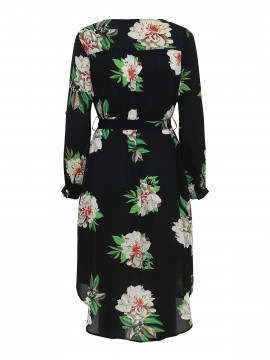 Chopin Stine flower dress - Black