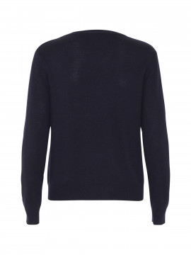 Chopin Jackie O-neck knit - Navy