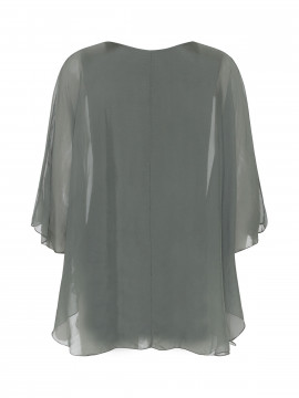 Chopin Damita silk top - Green