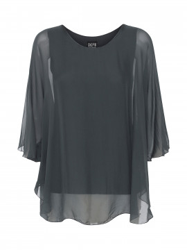 Chopin Damita silk top - Grey