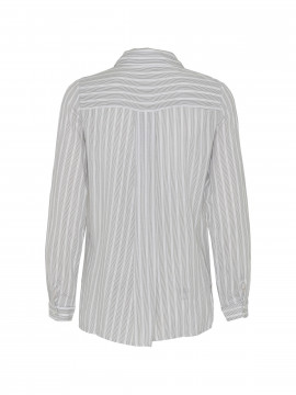 Chopin Jessie stripe shirt - grey