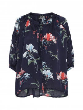 Chopin Kimmie flower shirt - Blue
