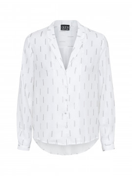 Chopin Kate silver shirt - Ivory