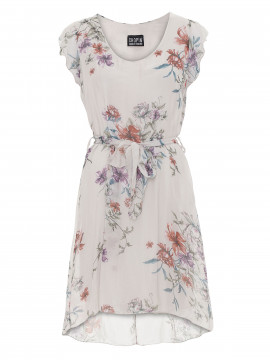 Chopin Mai flower dress - Ecru