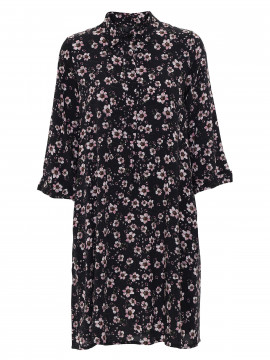 Chopin Maddie flower dress - Black