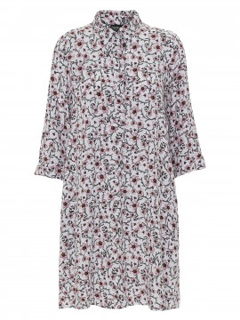 Chopin Maddie flower dress - White