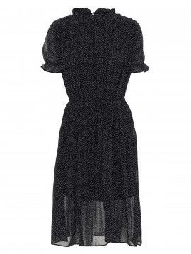 Chopin Marina small dot dress - Black
