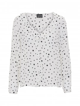Chopin Madison dot top - White