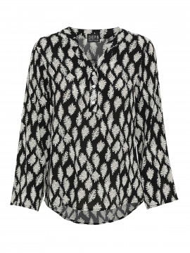 Chopin Ferosa feather shirt - Black