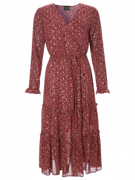 Chopin Prisca long dress - Plum