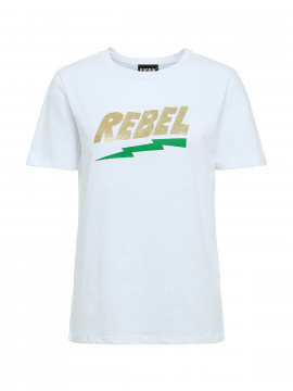 Chopin Rebel S/S Tee - White
