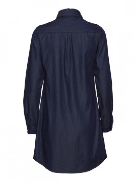 Chopin Naja denim dress - Dark blue