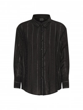 Chopin Amanda stripe shirt - Black