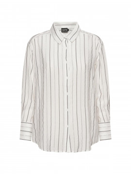 Chopin Amanda stripe shirt - White