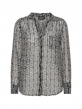 Chopin Andrea fendi shirt - Black/white