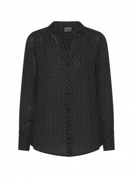 Chopin Ane heart shirt - Black