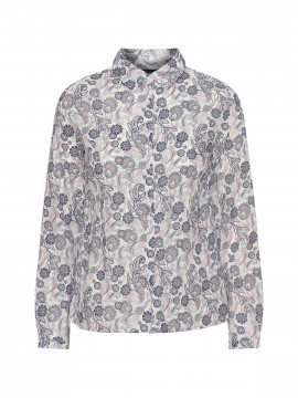 Chopin Anja paisley shirt - Navy/rose